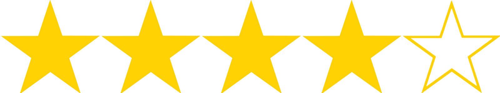 how to make a star rating in html